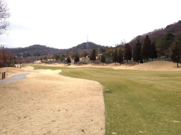 ロータリーゴルフ倶楽部 ニューコース 2番ホール ロングホール