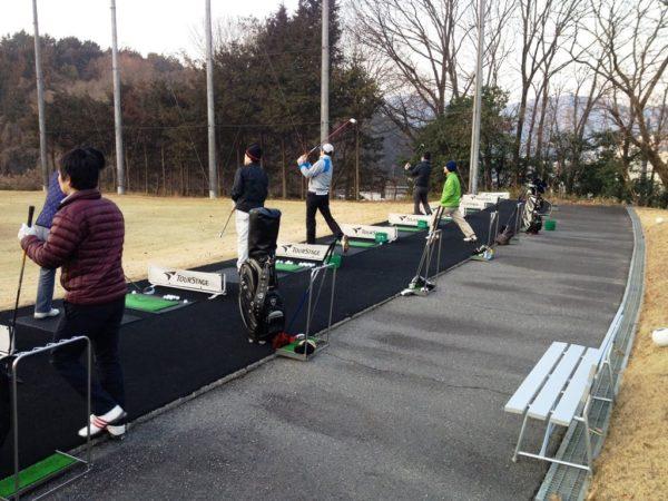 瀬田ゴルフコース 練習場 ドライビングレンジ