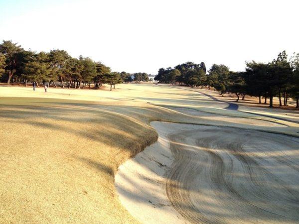 瀬田ゴルフコース 西コース 1番ホール ロングホール