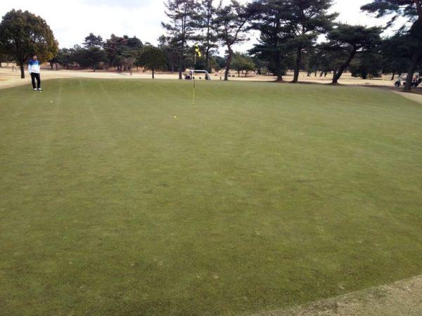 瀬田ゴルフコース 西コース 12番ホール ショート