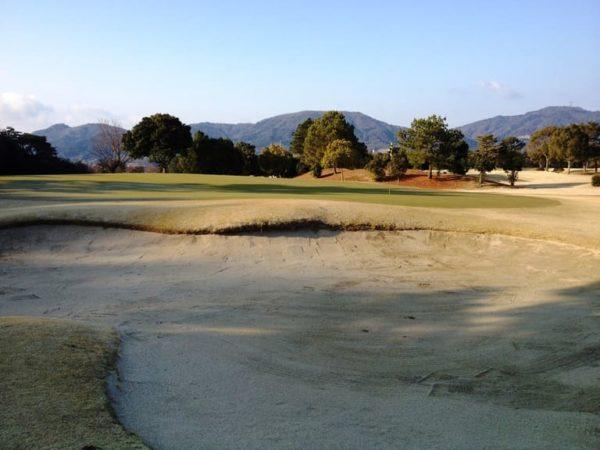 瀬田ゴルフコース 西コース 2番ホール ショート