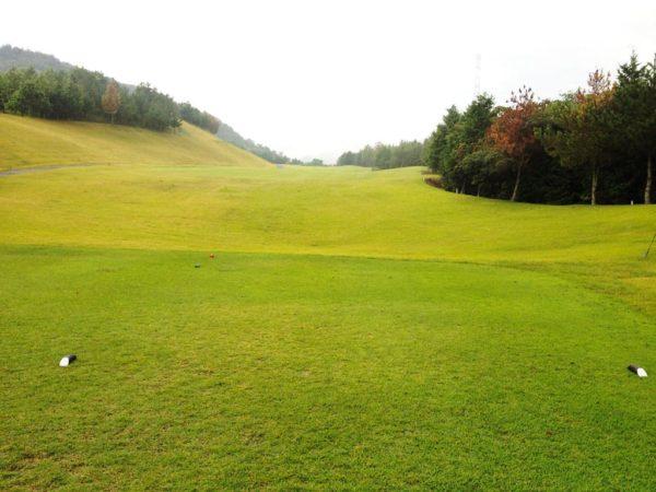 亀岡ゴルフクラブ 12番 ミドルホール