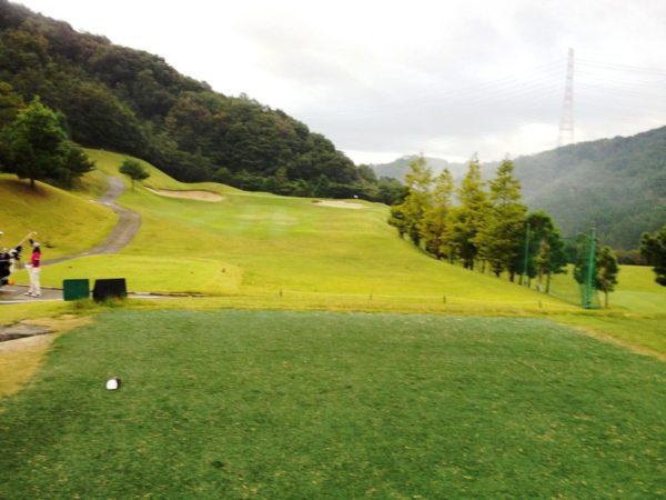 亀岡ゴルフクラブ 13番 ショートホール