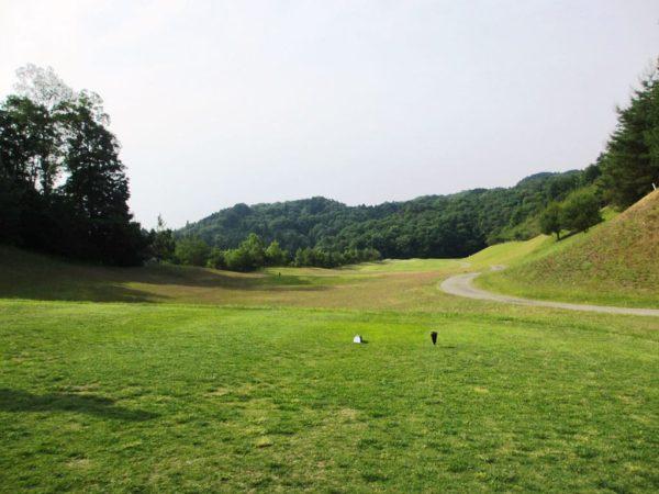 亀岡ゴルフクラブ 15番 ミドルホール