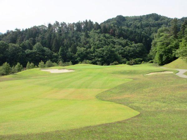 亀岡ゴルフクラブ 17番 ショートホール