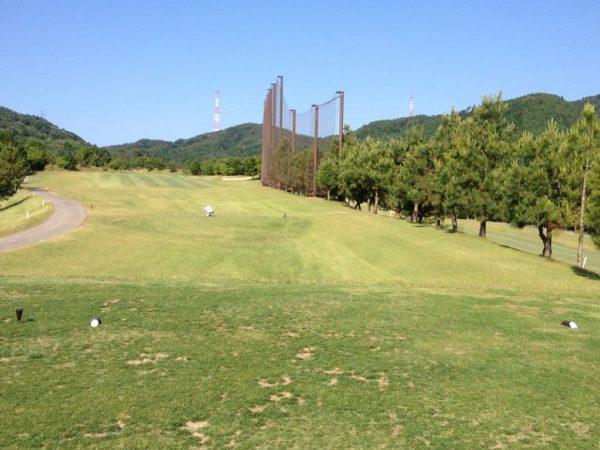 亀岡ゴルフクラブ 6番 ミドルホール