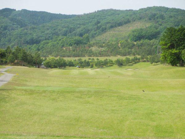 亀岡ゴルフクラブ 9番 ロングホール