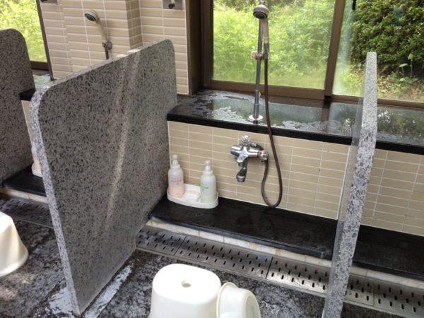 亀岡ゴルフクラブ 男子 大浴場 シャワー