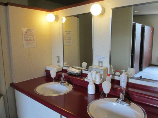 那須国際カントリークラブ 女性用トイレ