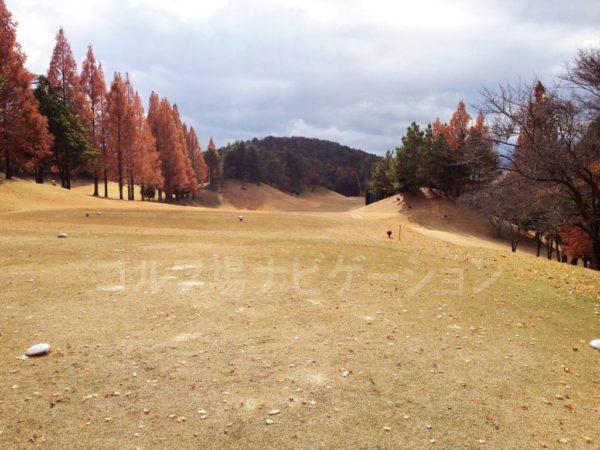 箕面ゴルフ倶楽部 INコース 17番ホール
