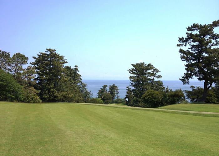川奈ホテルゴルフコース 大島コース OUTコース