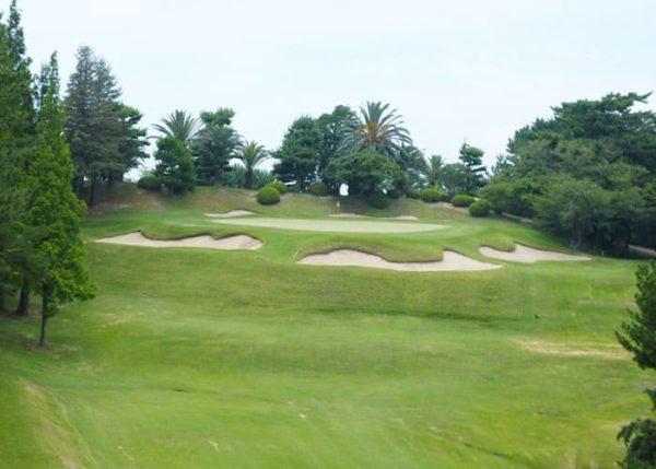 大阪ゴルフクラブ INコース 18番ホール