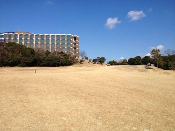スプリングゴルフ&アートリゾート淡路 IN 18番ホール