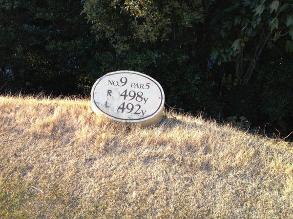 スプリングゴルフ&アートリゾート淡路 OUT 9番ホール